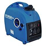 HYUNDAI Inverter-Generator HY2000Si D (Inverter Stromerzeuger, tragbarer Benzin Generator mit 2 kW Maximalleistung, Notstromaggregat, Stromaggregat)