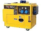 Rotek Diesel Stromerzeuger mit Notstart-Automatik GD4SS-1A-6000-5EBZ-ATS (5,5 kVA / 230V 50Hz 1-phasig)
