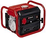 Einhell 4152535 Stromerzeuger (Benzin) TC-PG 10/E5 (680 W, 2-Takt-Antriebsmotor, 230 V-Steckdose, Tragerahmen, stabile Standfüße, Überlastschalter, Seilzug zum Starten)